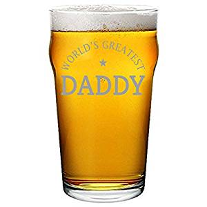World's Greatest Daddy - Professionally Engraved Pint Glass